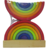 Arco Iris Waldort Doble Grande para jugar