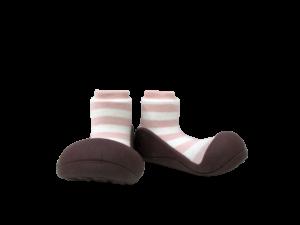 Attipas herb rosa a rallas calzado para bebe comodo