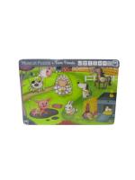 Puzzle musical animales de la granja – Hape