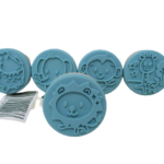 Set de 5 Sellos de plastilina de animales Ailefo