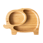 Plato Bambu con ventosa Elefante Eco – Rascals
