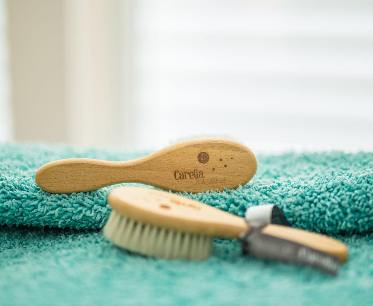 Cepillo para bebe natural