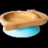 Plato azul caracol