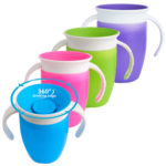 Taza antigoteo con asas 200ml Miracle 360º