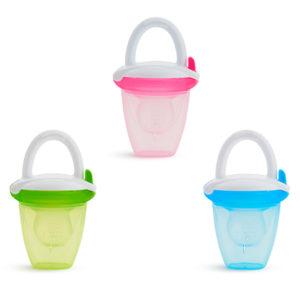 Alimentador para pures Munchkin tres colores