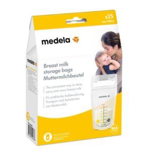 Bolsa de leche materna