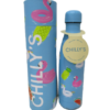 Botella de acero inoxidable Chilly pool party day blue