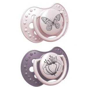 chupetes lovi rosa botanica para bebes
