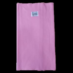 fular ligero de color rosa