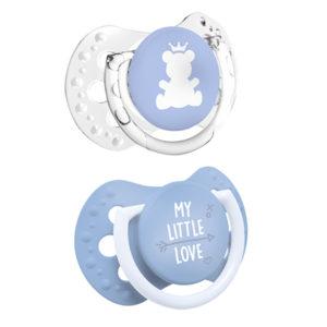 mini chupetes dinamicos lovi azul bebe