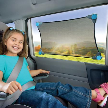 parasol brica elastico para proteger del so a los niños