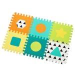 Suelo puzzle espuma 6 piezas – Olmitos