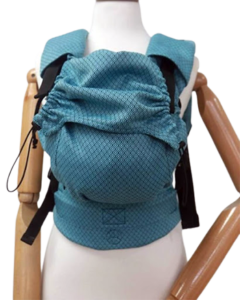mochila portabebés neko blue