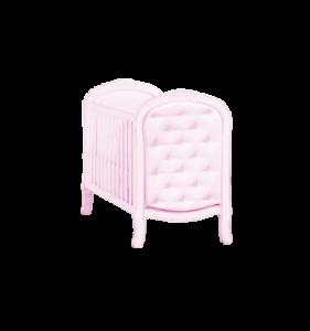 Cuna trama classic color rosa